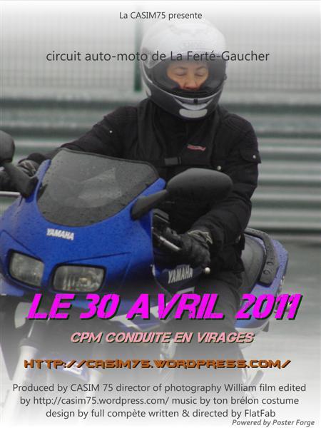 CASIM75 : Circuit LFG round 2 - 30/04/11 PosterCasim01